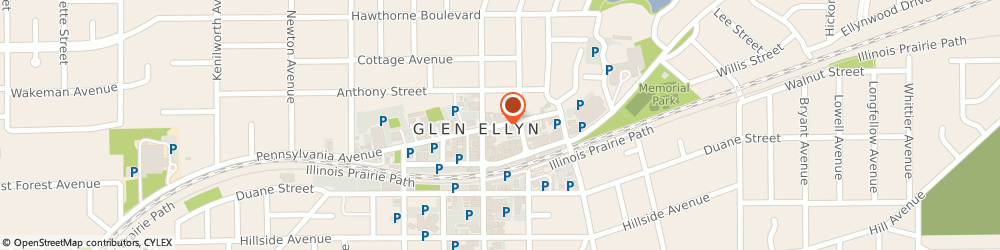 Route/map/directions to Chocolaterie Stam Glen Ellyn, 60137 Glen Ellyn, 530 Pennsylvania Ave