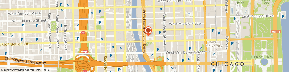 Route/map/directions to New York Life Insurance Company - Real Estate Office, 60606 Chicago, 233 SOUTH WACKER DRIVE