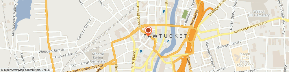 Route/map/directions to Addiction Recovery Institute, 02860 Pawtucket, 31 N Union St