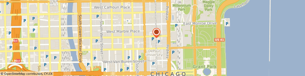 Route/map/directions to Baskin-Robbins, 60603 Chicago, 31 E Adams St