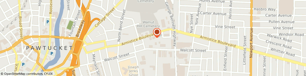 Route/map/directions to Pawtucket Healthcare, 02860 Pawtucket, 209 ARMISTICE BLVD