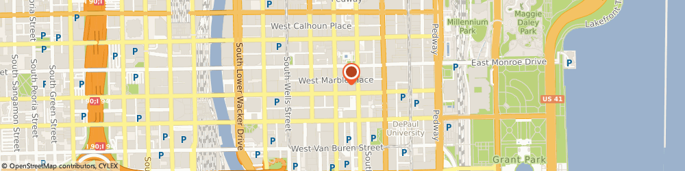 Route/map/directions to Curbside Books & Records, 60603 Chicago, 125 S Clark St