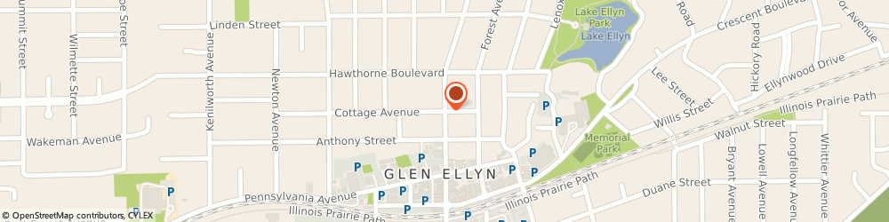 Route/map/directions to Blackberry Market, 60137 Glen Ellyn, 401 N Main St