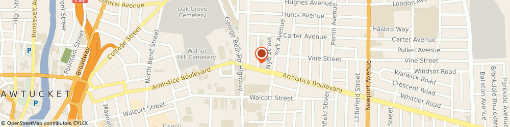 Route/map/directions to A-Stat Medical Billing Management, 02861 Pawtucket, 298 Armistice Blvd