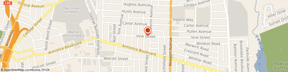 Route/map/directions to Ziogas James Jr Attorney, 06010 Bristol, 104 Bellevue Avenue