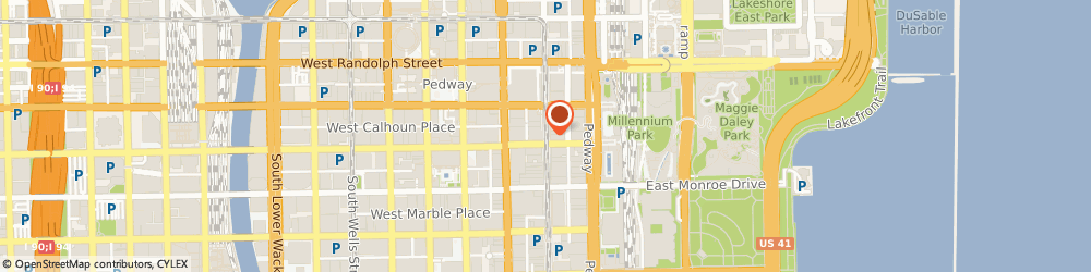 Route/map/directions to Baskins Robbins, 60602 Chicago, 6 N. Wabash Ave
