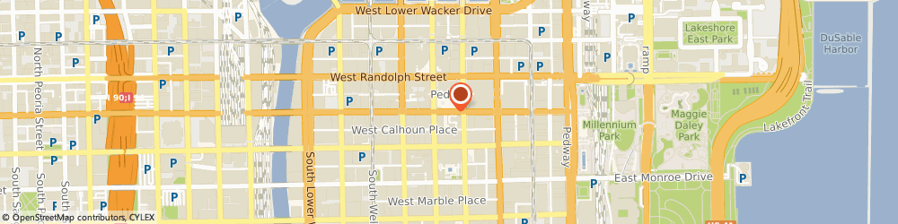 Route/map/directions to Baskin Robbins, 60602 Chicago, 75 E. Washington St.