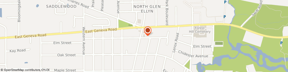 Route/map/directions to 7-Eleven, 60137 Glen Ellyn, 803 North Main