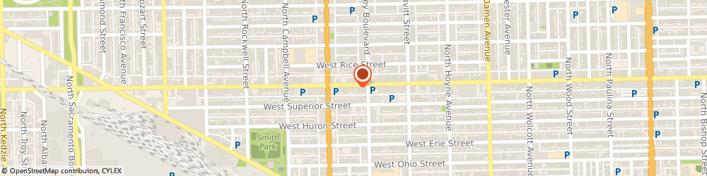 Route/map/directions to Farmers Insurance - Raimonda Smith, 60622 Chicago, 2319B W Chicago Ave