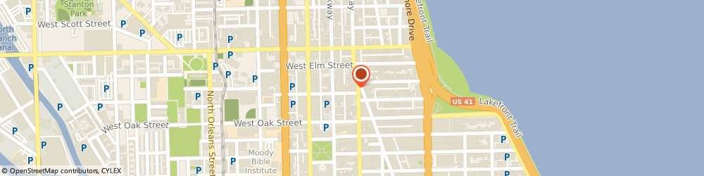 Route/map/directions to Subway Sandwiches & Salads, 60610 Chicago, 1110 NORTH STATE STREET