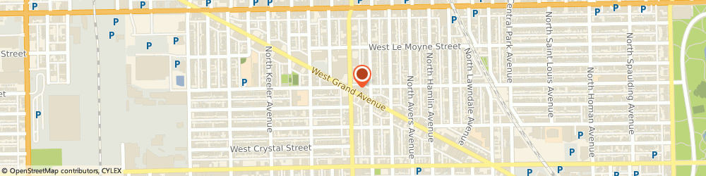 Route/map/directions to Farmers Insurance - Anthony Jones, 60651 Chicago, 3966 W Grand Ave