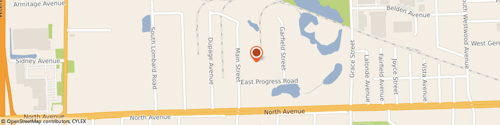 Route/map/directions to Worldwide Moving, 60148 Lombard, 951 NORTH MAIN STREET