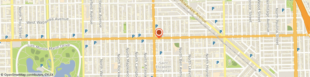 Route/map/directions to Western-North Checkexpress, 60622 Chicago, 1555 NORTH WESTERN AVENUE