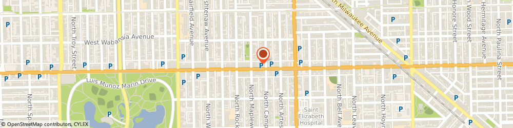 Route/map/directions to Acceptance Insurance, 60647 Chicago, 2516 W North Ave