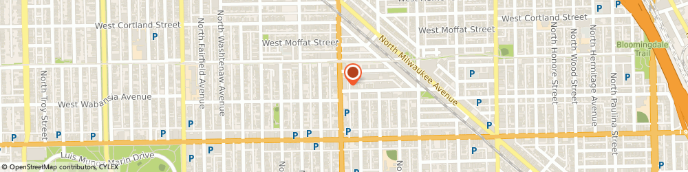 Route/map/directions to Pete Fernandez: Allstate Insurance, 60647 Chicago, 1719 N Western Ave