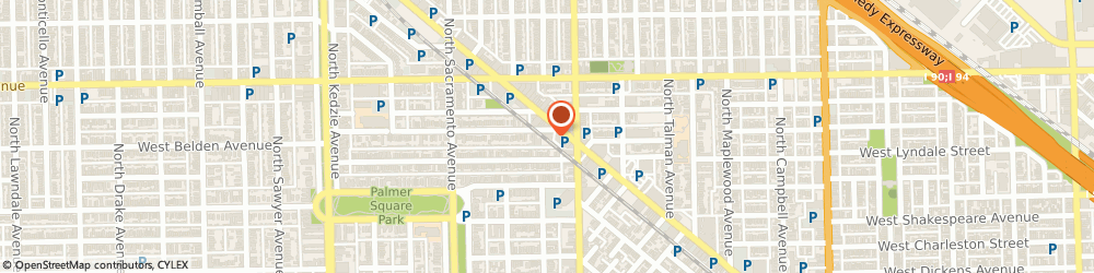 Route/map/directions to STATE FARM Kevin Smith, 60647 Chicago, 2827 W. Belden Ave Space 1B