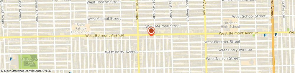 Route/map/directions to ST PAULS Catholic Biblical and Multicultural Book Center, 60641 Chicago, 5525 W Belmont Ave