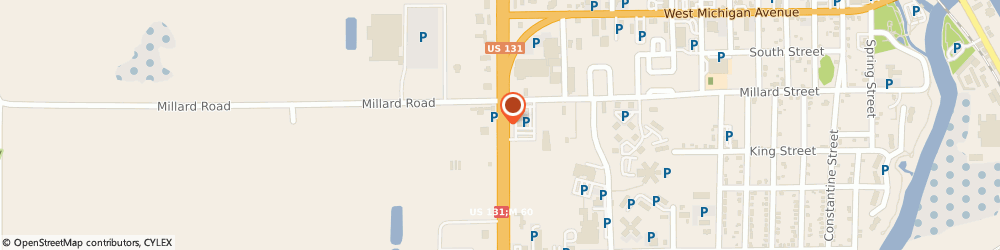 Route/map/directions to H&r Block, 49093 Three Rivers, 800 S US-131