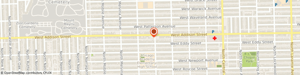 Route/map/directions to Austin Gardens Buddhist Center of Chicago, 60634 Chicago, 6019 W Addison Street