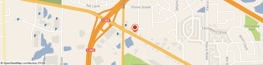Route/map/directions to Dunkin Donuts, 60101 Addison, 1750 WEST LAKE STREET