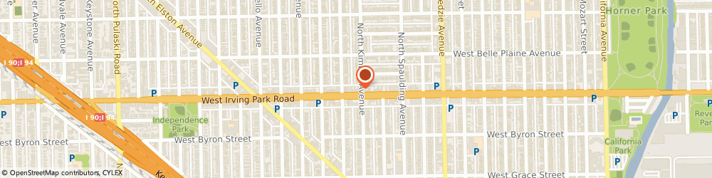 Route/map/directions to STATE FARM Alton Williams, 60618 Chicago, 3406 West Irving Park Road