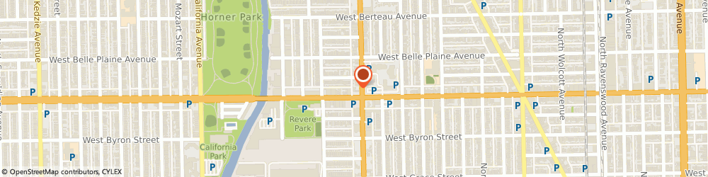 Route/map/directions to Baskin-Robbins, 60618 Chicago, 4010 N. Western Ave.