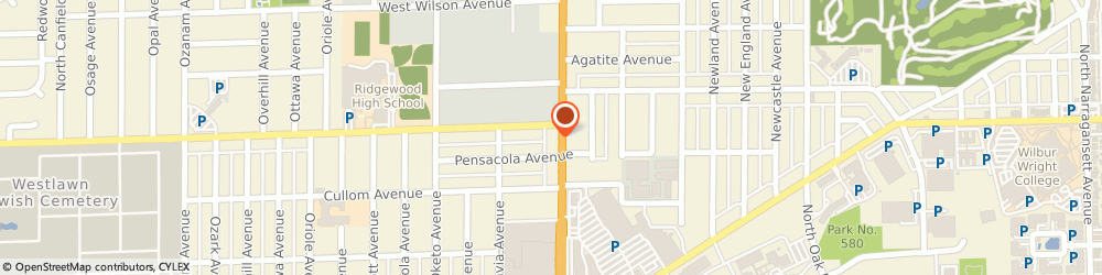 Route/map/directions to PNC BANK, 60706 Norridge, 4350 N Harlem