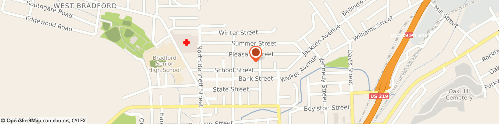 Route/map/directions to Dunn Janette, 61421 Bradford, STREET
