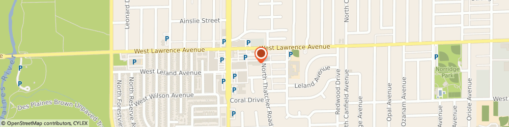 Route/map/directions to Flower Fantasy, 60706 Norridge, 8321 W. Lawrence Ave