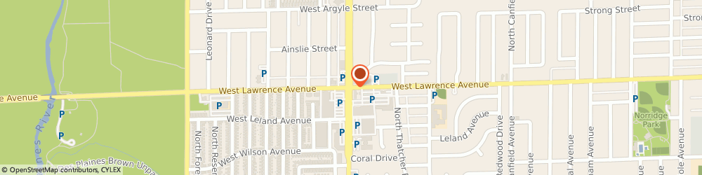Route/map/directions to Dollar Fiesta Incorporated, 60706 Norridge, 8343 WEST LAWRENCE AVENUE