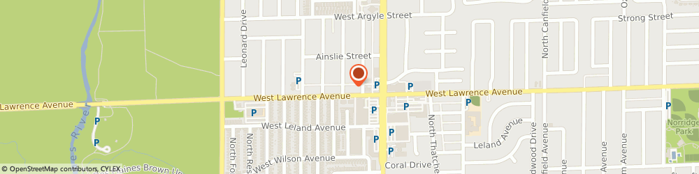 Route/map/directions to Als Pizza, 60706 Norridge, 8530 W Lawrence Ave