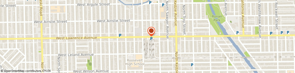 Route/map/directions to Universal Insurance Service, 60625 Chicago, 3342 W Lawrence Ave