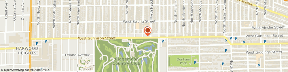 Route/map/directions to STATE FARM Stanley Yee, 60706 Harwood Heights, 6436 W Gunnison Street