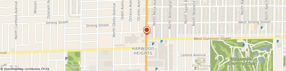 Route/map/directions to Subway, 60706 Harwood Heights, 4850 N Harlem Ave.