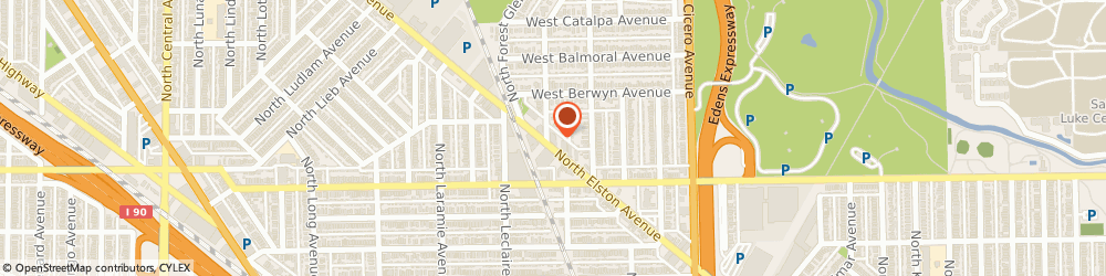 Route/map/directions to American Family Insurance - Agents, Chicago, Harambasic Anna, 60630 Chicago, 5243 N Elston Ave