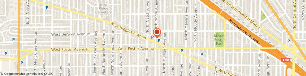 Route/map/directions to Subway, 60630 Chicago, 5232 N Nagle Ave