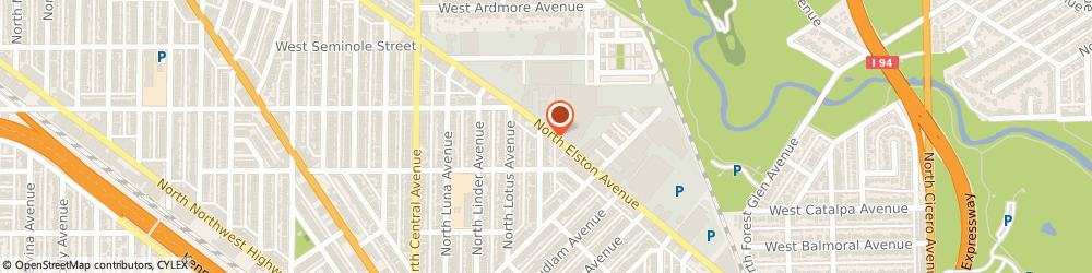 Route/map/directions to Metropolitan Insurance Service Consultants, 60630 Chicago, 5550 N. Elston Ave