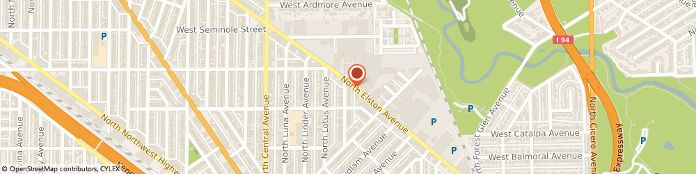 Route/map/directions to National Transportation Insurance Agency, 60630 Chicago, 5550 N Elston Ave