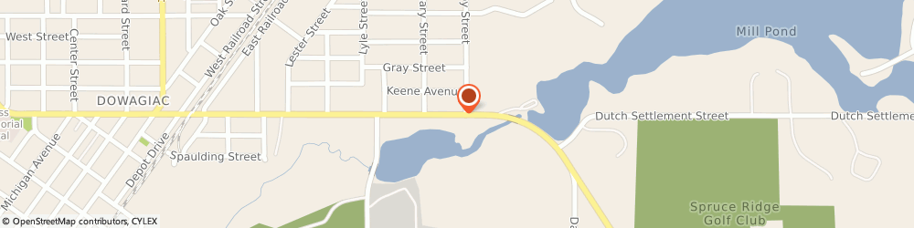 Route/map/directions to Navy Federal Credit Union, 49047 Dowagiac, 473 E Division St