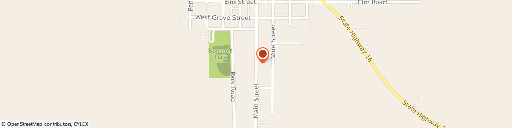 Route/map/directions to Gralheer Insurance LLC, 68004 Bancroft, 319 Main St