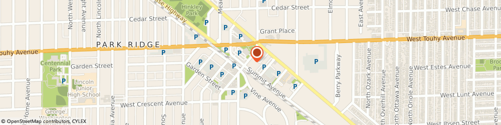 Route/map/directions to Subway, 60068 Park Ridge, 33 S Prospect