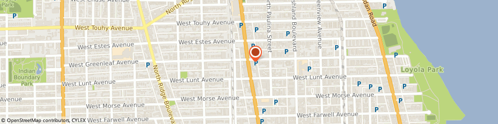 Route/map/directions to Pitchfork Media, 60626 Chicago, 7035 NORTH CLARK STREET