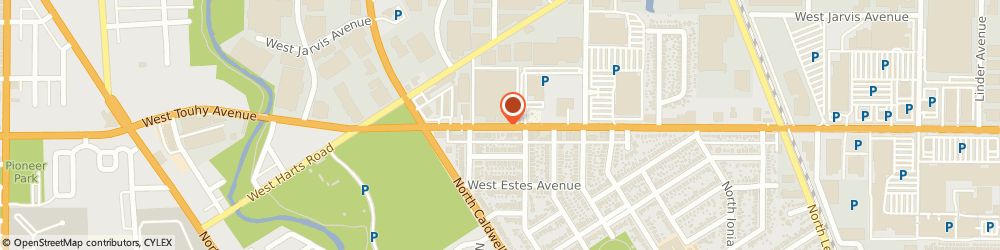 Route/map/directions to Leaning Tower YMCA, 60714 Niles, 6300 W Touhy Ave