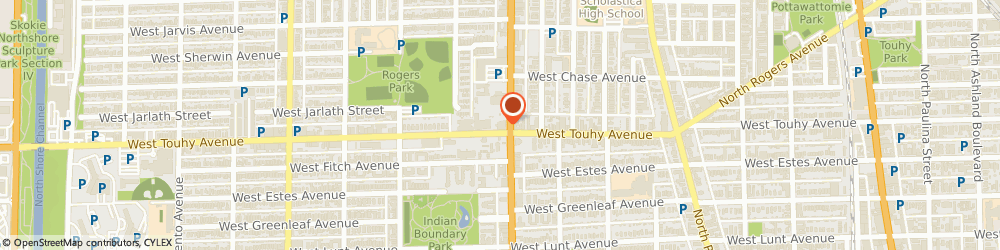 Route/map/directions to Lakeshore Eye Physicians, 60645 Chicago, 7200 N Western Ave