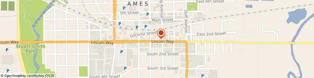 Route/map/directions to Shelter Insurance, 50010 Ames, 311 Lincoln Way
