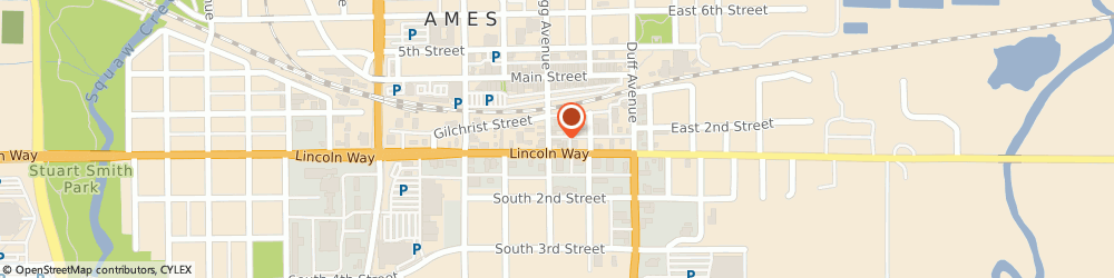 Route/map/directions to Advanced Cleaning Services of Iowa, 50010 Ames, 110 Kellogg Ave