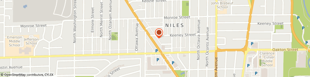 Route/map/directions to STATE FARM Kathy Murphy, 60714 Niles, 8055 N Milwaukee Avenue