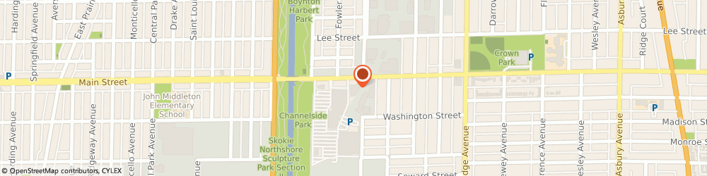 Route/map/directions to Advance Auto Parts, 60202 Evanston, 2310-2312 Main Street