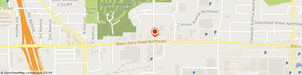 Route/map/directions to Discount Tire, 52402 Cedar Rapids, 1500 Blairs Ferry Rd. NE