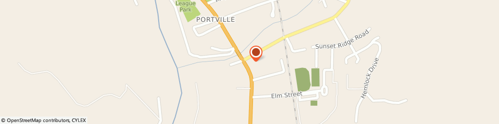 Route/map/directions to Citibank ATM, 14770 Portville, 55 S Main